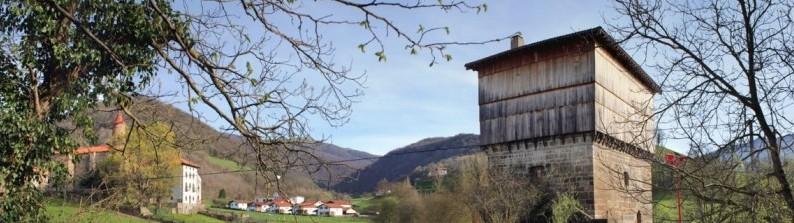 JAUREGIA es la Torre Medieval mejor conservada del norte de Navarra