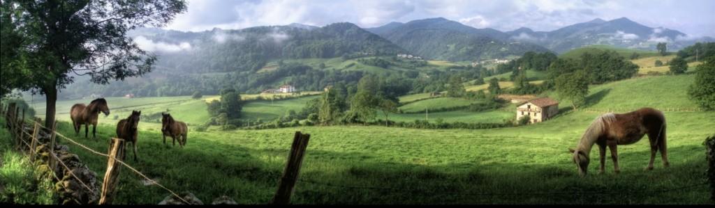Casa Rural Utxunea está en el mismo corazón de los Valles Tranquilos del Bidasoa, en Donamaria, en la virgen comarca de Malerreka. Gozar de la tranquilidad, disfrutar la paz, oir el silencio, oler la hierba.