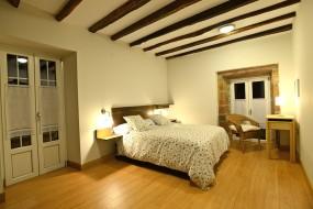 Habitación con terraza de noche