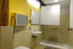 2 Baños adaptados. Grandes y accesibles